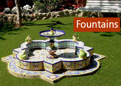 Ceramic fountains