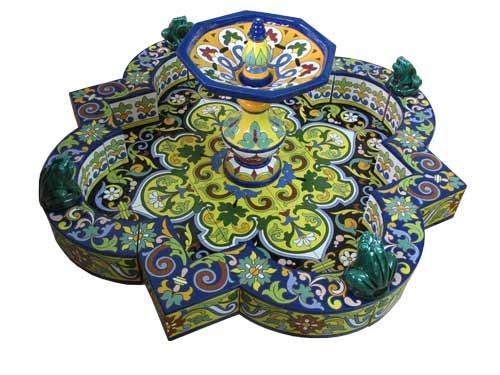 Fuente de cerámica modelo FT1G (sin borde exterior)