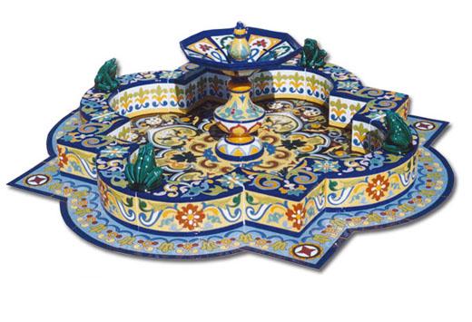 Fuente de cerámica modelo FT1G