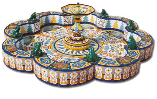 Fuente de cerámica modelo FT7
