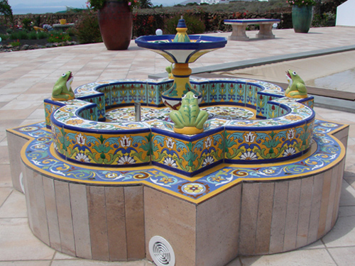 Fuente de cerámica modelo FT1